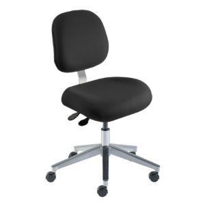 Biofit avenue series ergonomic chair, Low seat height range with wide aluminum base and casters