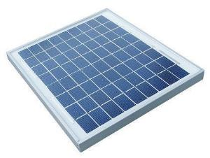 10 Watt Framed Solar Panel 12V