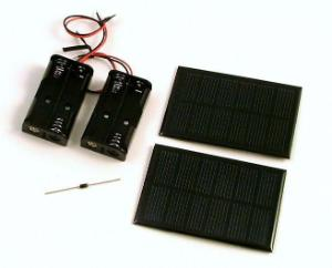 Soldering Solar Charger
