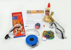 Elementary science olympiad: Gummi bear long jump