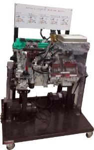 Hybrid Cut-Away Engine