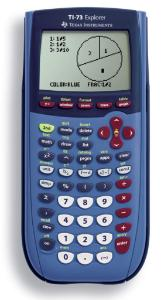 TI-73 Explorer Graphing Calculator