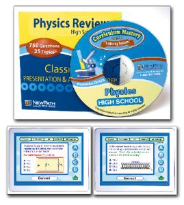 Science Classroom Presentation/Assessment Prep CD-Rom: Physics