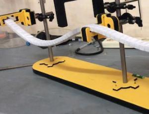 Quantum Wave Flexible Track