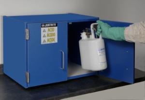Justrite® Nonmetallic Storage Cabinet