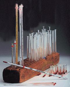 Red Spirit-Filled Thermometers