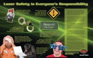 Laser Safety Poster