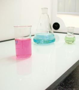Glass Work Surface