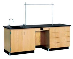 8' Instructor's Lab Desk