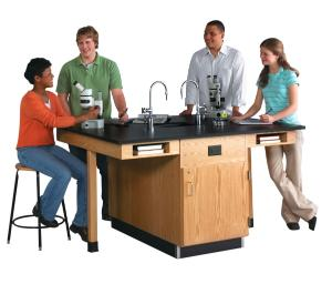 Four Student Workstations
