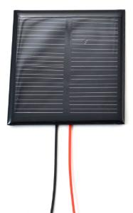 Solar Cell with Wires