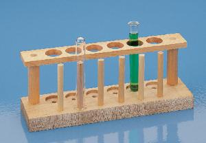 Test Tube Supports with Draining Pins
