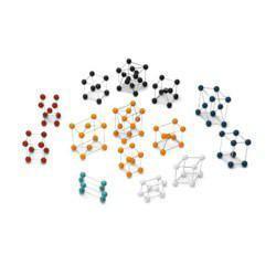 Set of Basic Crystal Structures Model