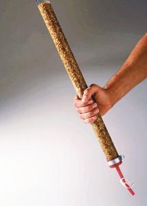 Porosity and Permeability Plastic Column