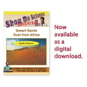Show Me Science: Earth Science Desert Sands - Dust from Africa