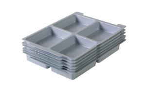 Four Compartment Tray Insert