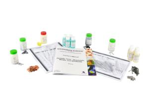 Spill clean-up kit acid/caustic/solvent