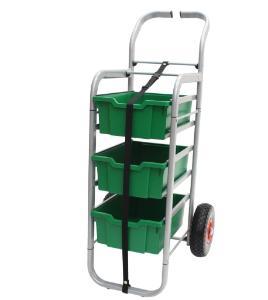 Gratnells Rover All Terrain Cart 3 Deep Trays - 470316-546