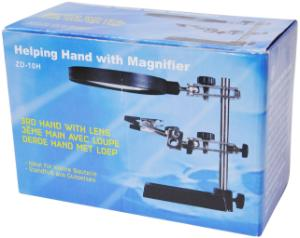 Deluxe Helping Hands with Extra Large Magnifier