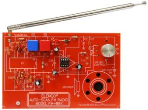 Auto Scan FM Radio Kit