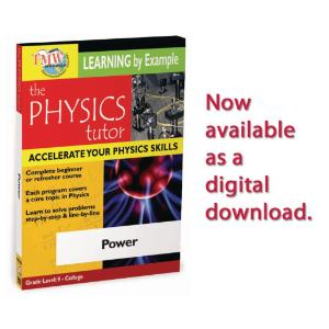 Physics Tutor: Power