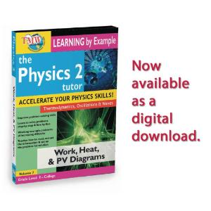 Physics 2 Tutor: Work, Heat, And PV Diagrams Video