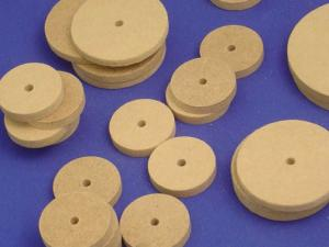 MDF Fiberboard Wheels, Kidder
