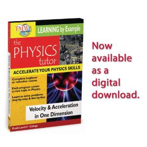 Physics Tutor Series: Learning By Example