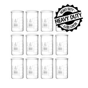 Beaker heavy duty glass 50 ml pack