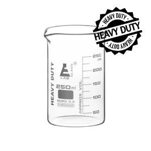 Beaker heavy duty glass 250 ml