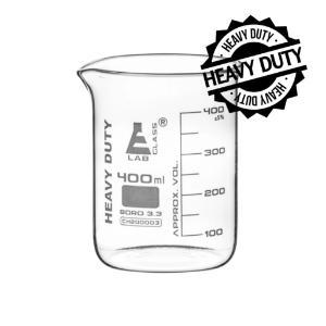 Beaker heavy duty glass 400 ml
