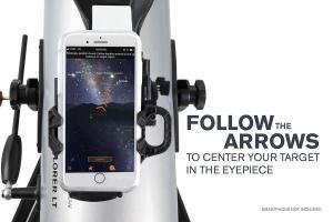 StarSense Explorer™ LT 114AZ reflector telescope