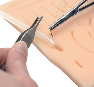 Suture Pad with Tube