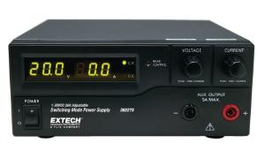 Single-Output Laboratory Grade DC Power Supply, 600 Watt, Extech