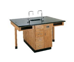 "2-Student Workstations, 66""L x 30""D x 36""H"