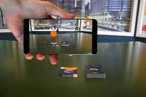 AR space and planets cards