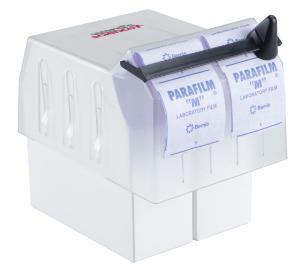 Parafilm box top dispenser