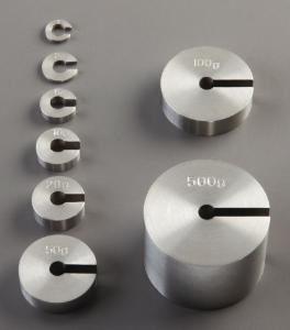 Individual Slotted Gram Weights