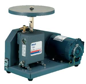 Vacuum/Pressure Pump with Plate and Belt Guard