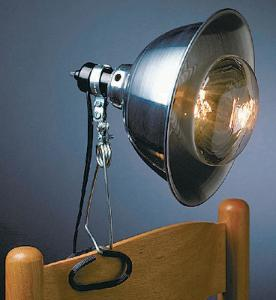 Infrared Lamp and Reflector