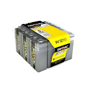 Alkaline Ultrapro Reclosable Battery, 9 V