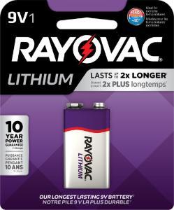 Lithium Battery 9 V