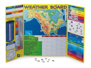 Magnetic Interactive Weather Board