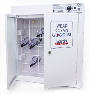 Goggle Sanitizing Cabinet, Open