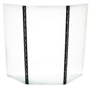 Safety shield, tri-fold