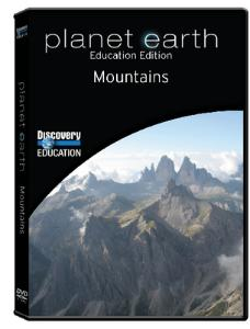 Planet Earth: Mountains DVD
