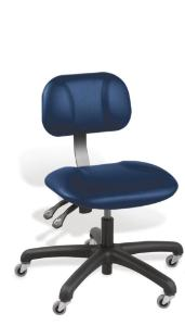 VWR® Contour™ Upholstered Lab Chairs, Vacuum-Formed Vinyl