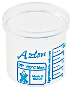 Beakers, Square Ratio, Polypropylene, Dynalon