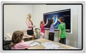 Interactive Flat Panel Display Board