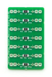 Vernier® Resistor Board